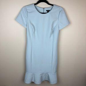 Ann Taylor Powder Blue Dress 👗 size 4